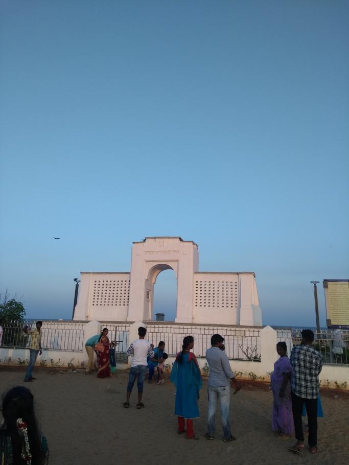 Schmidt Memorial -Beasant Nagar Eliots beach